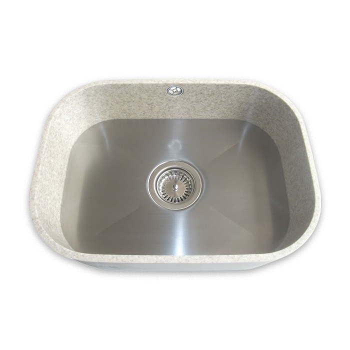 Samsung staron sinks solid sinks premier trade surfaces for Solid surface kitchen sink