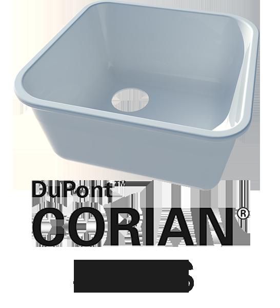 Corians Sink Range
