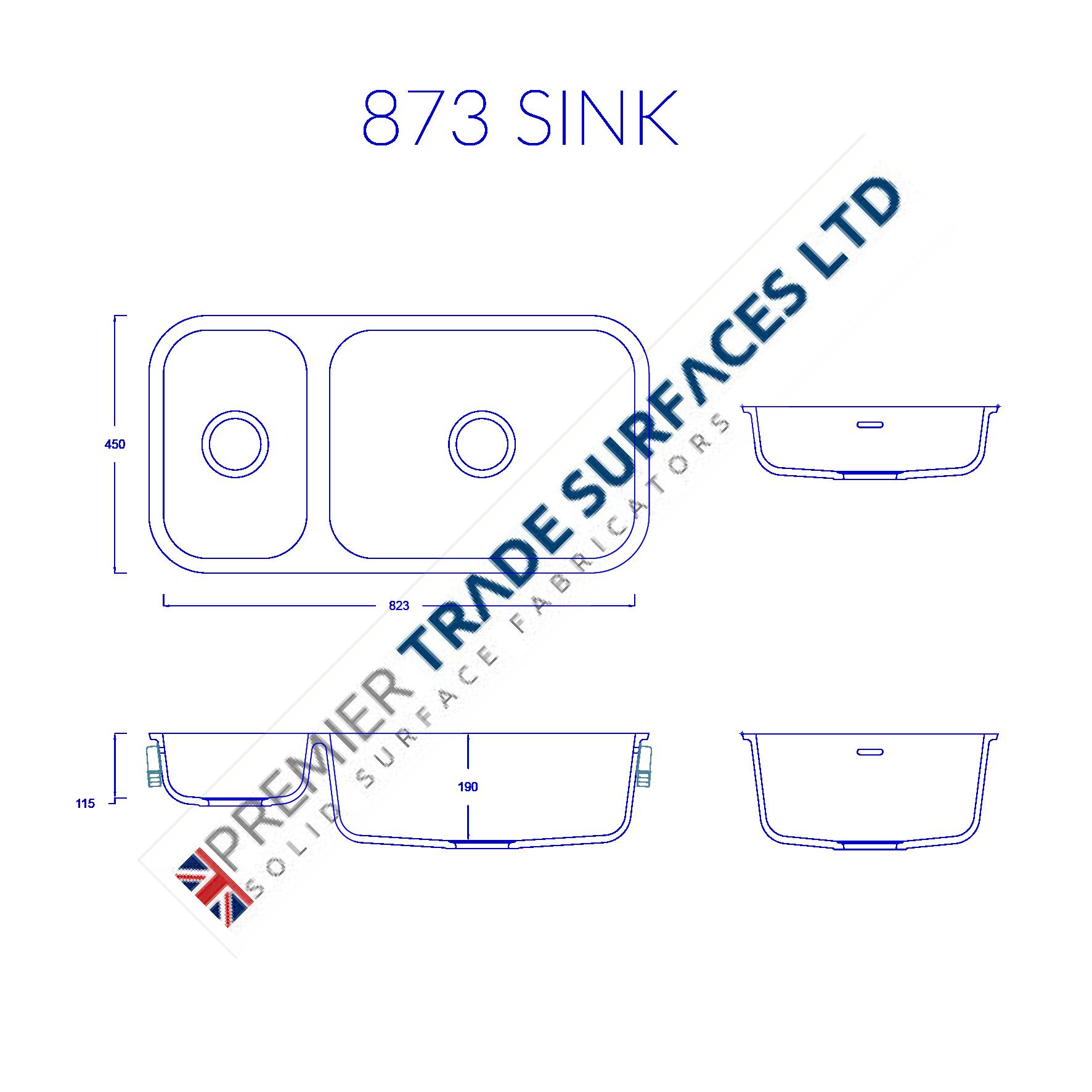 Corian Sinks - Premier Trade Surfaces